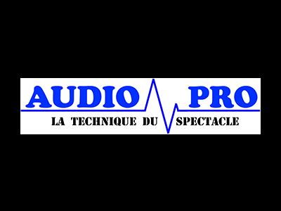 logo Audiopro, partenaire / sponsor du festival - musiques électroniques video-mapping, performance A/V - Bordeaux
