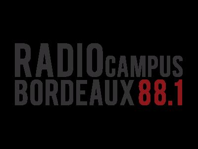 logo Radio Campus, partenaire / sponsor du festival - musiques électroniques video-mapping, performance A/V - Bordeaux