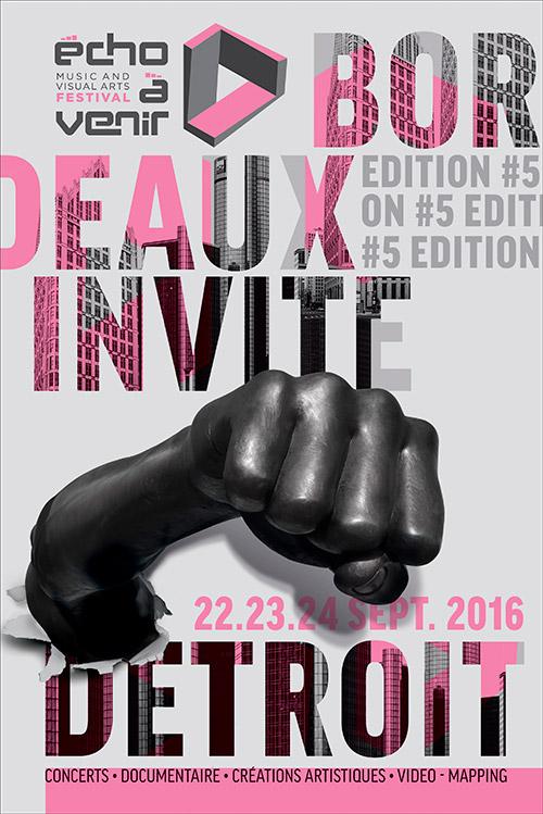 echoavenir - music and visual art festival edition 2016- bordeaux : Underground Resisitance - Shigheto - YMCA Angouleme