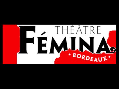 logo theatre Femina, partenaire / sponsor du festival - musiques électroniques video-mapping, performance A/V - Bordeaux