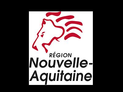 logo region nouvelle aquitaine, partenaire / sponsor du festival - musiques électroniques video-mapping, performance A/V - Bordeaux